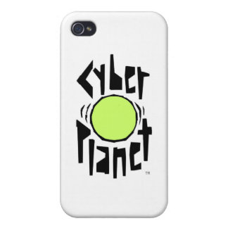CYBER PLANET LOGO COVERS FOR iPhone 4
