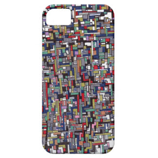 Cyber Pop Abstract Fractal Designs iPhone 5 Case