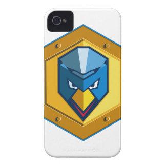 Cyber Punk Chicken Hexagon Icon Case-Mate iPhone 4 Case