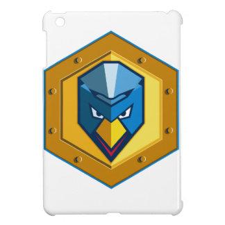 Cyber Punk Chicken Hexagon Icon iPad Mini Covers