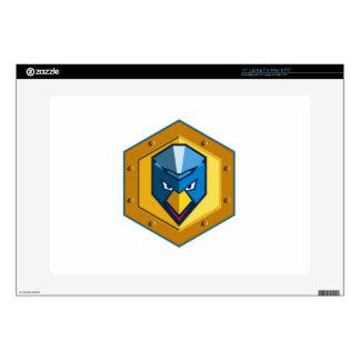 "Cyber Punk Chicken Hexagon Icon Skin For 15"" Laptop"
