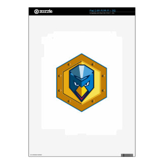 Cyber Punk Chicken Hexagon Icon Skins For The iPad 2