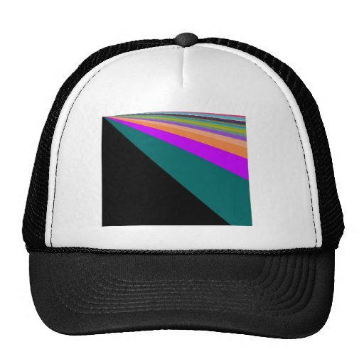 Cyber Rainbow Hat
