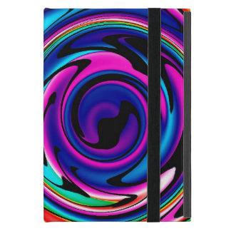 cyber rainbow iCase iPad Mini Cases