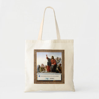 Cyber Sermon Canvas Bag
