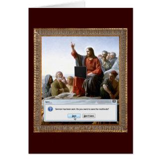 Cyber Sermon Card