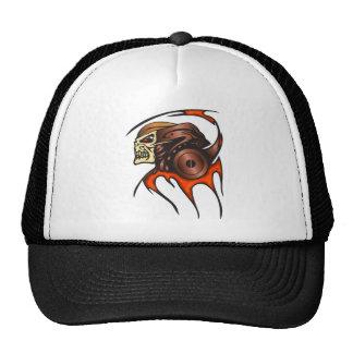 Cyber Skull Warrior Trucker Hat