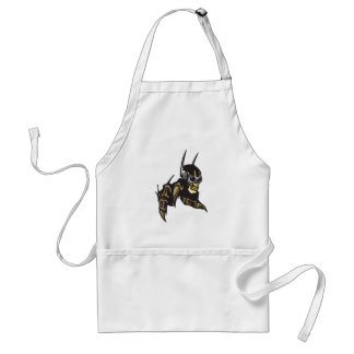 Cyber Skull with Claws Adult Apron