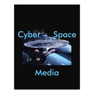 cyber space media-flyers
