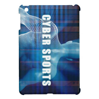 Cyber sports as a Futuristic Concept Abstract iPad Mini Covers