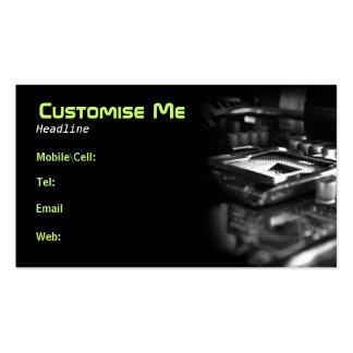Cyber Stadium BW Business Card