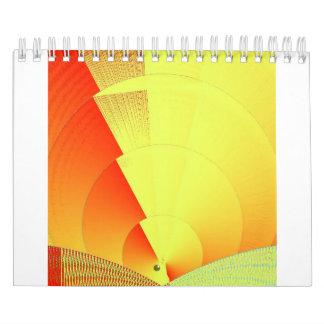 Cyber Sunset 2017 Calendar