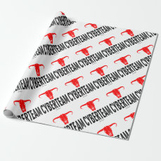 Cyber Team & Bull by Vimago Wrapping Paper