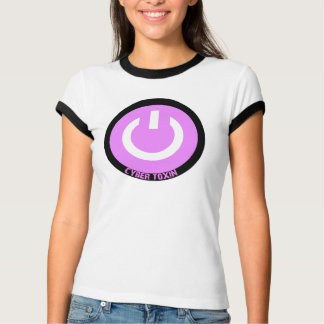 Cyber Toxin Logo ringer Tshirts