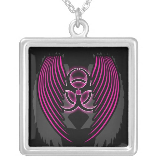 Cyber Wings Necklace