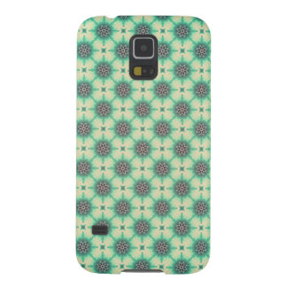 Cyberdelic Eight Bubbled Flower Motive Case For Galaxy S5