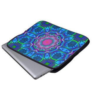 Cyberdelic Kaleidoscope Laptop Sleeve