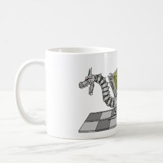 Cyberdragon Coffee Mug