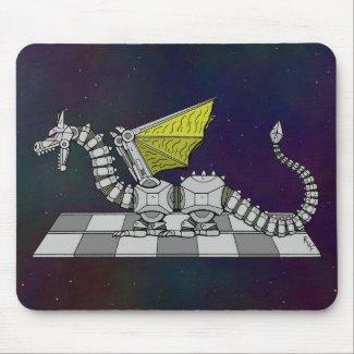 Cyberdragon Mouse Pad
