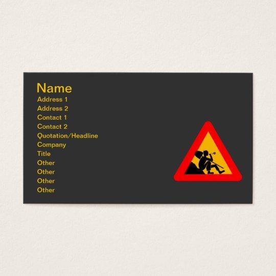 cybergedeon_man_at_work_ business card