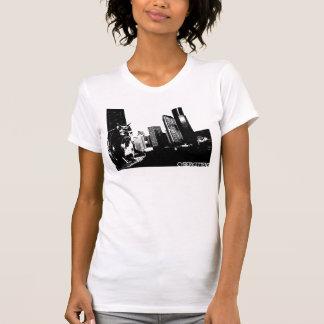 CYBERKITTENS: Jacked In (white) T-Shirt