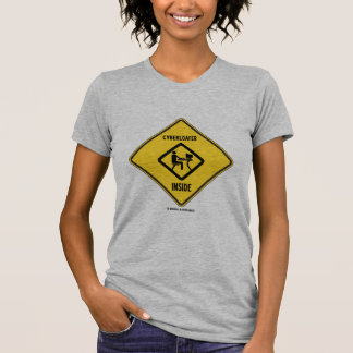Cyberloafer Inside (Yellow Diamond Warning Sign) T-Shirt