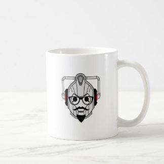 Cyberman Hipster Coffee Mug