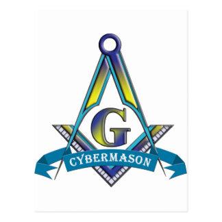 CYBERMASONS POSTCARD