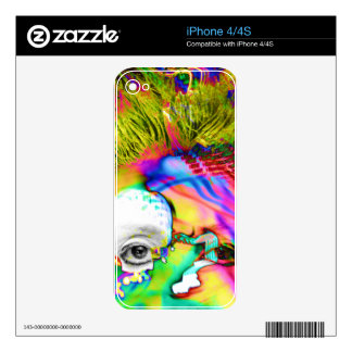 Cybernated Skins For iPhone 4S