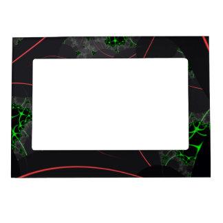 Cybernetic Interlink Fractal Magnetic Photo Frame