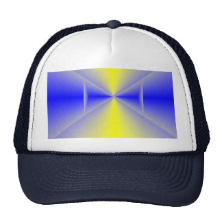 Cybernetic Sunrise Baseball Cap Trucker Hat