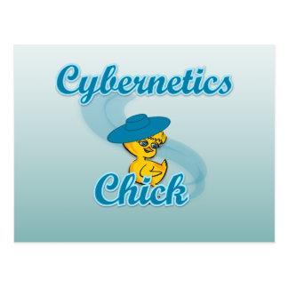 Cybernetics Chick #3 Postcard