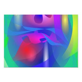 Cybernetics 5x7 Paper Invitation Card
