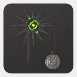 Cyberpunk LED Stickers Rectangle