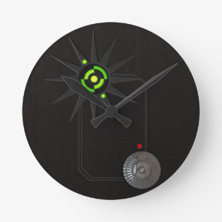 Cyberpunk LED Wall Clock