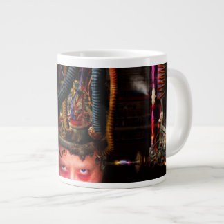 Cyberpunk - Mad skills Large Coffee Mug