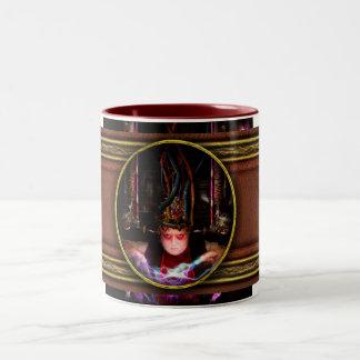 Cyberpunk - Mad skills Two-Tone Coffee Mug