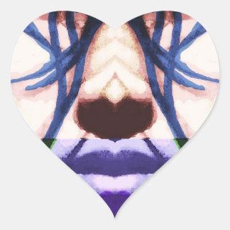 cyberpunk heart stickers