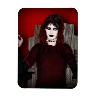 Cyberpunk Vampire Goth Magnet