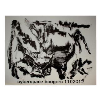 cyberspace boogers 1162012 postcard