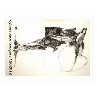 cyberspace boogers 1262012 postcard