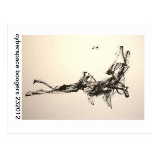 cyberspace boogers 232012 postcard