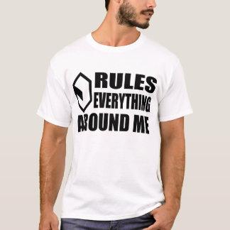 Cyberspace CREAM (light) T-Shirt