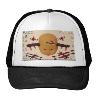 Cyborg Baby Air Brigade Hats