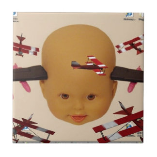 Cyborg Baby Air Brigade Small Square Tile