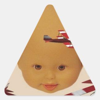 Cyborg Baby Air Brigade Triangle Sticker