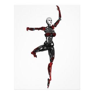 Cyborg Ballet En Pointe Letterhead