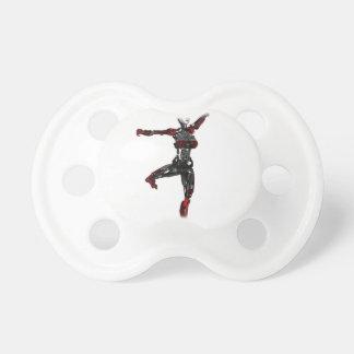 Cyborg Ballet En Pointe Pacifier