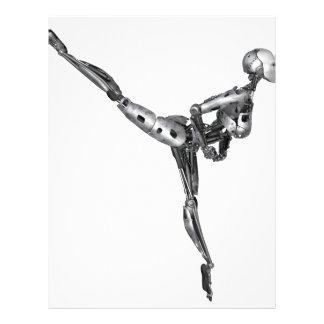 Cyborg Ballet in Arabesque Letterhead