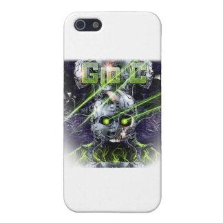cyborg-camiseta iPhone 5 fundas